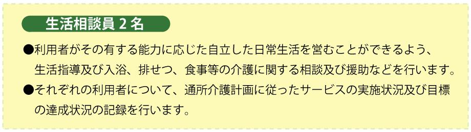 デイ野尻(生活相談員)